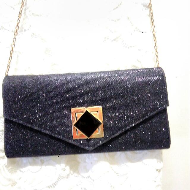GatsuOne Black Clutch