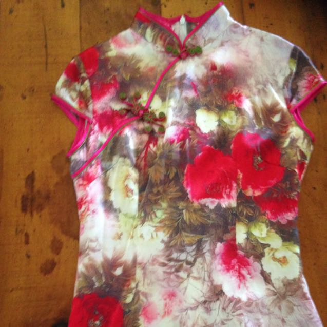 Genuine Chinese Silk Dress