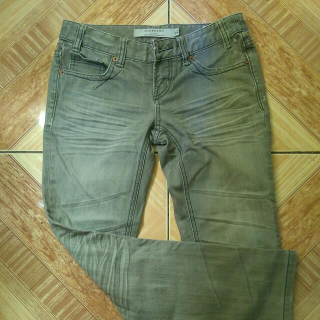 Giordano low Rise Skinny Jeans
