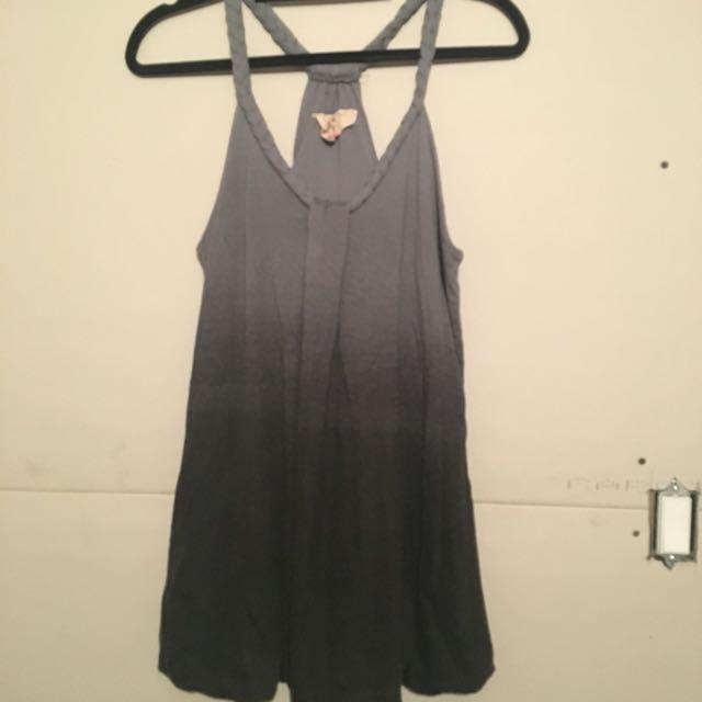 Grey Ombré Summer Dress