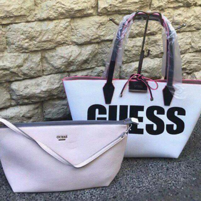 Guess Convertible Tote Bag