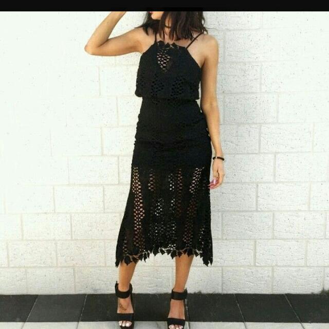 #harperandme gorgeous evening #lace #dress #cocktaildress. #Size 8.Never worn