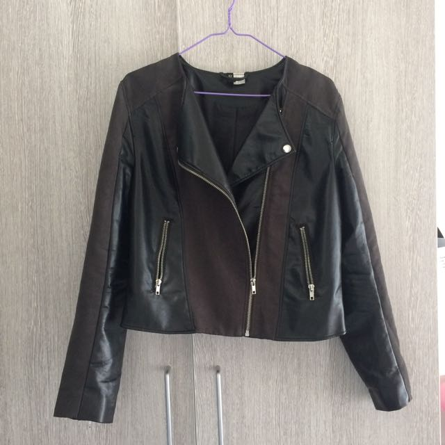H&M (DIVIDED) Leather Jacket