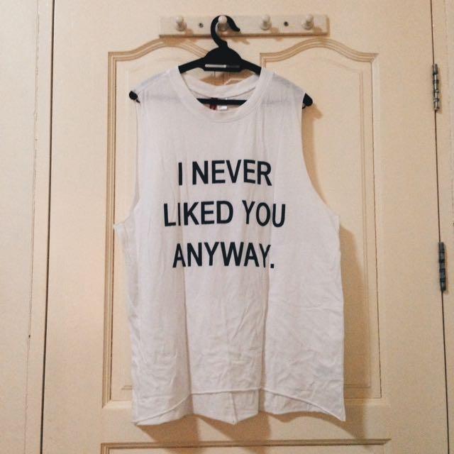H&M Loose/Oversized shirt