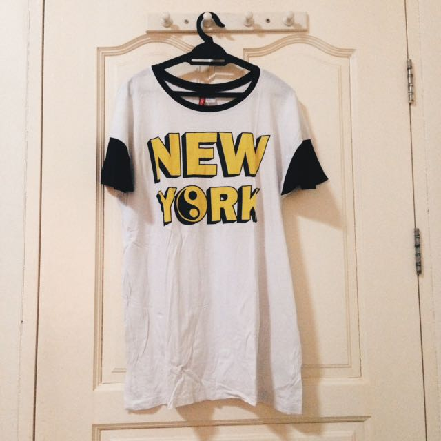 H&M NEW YORK SHIRT