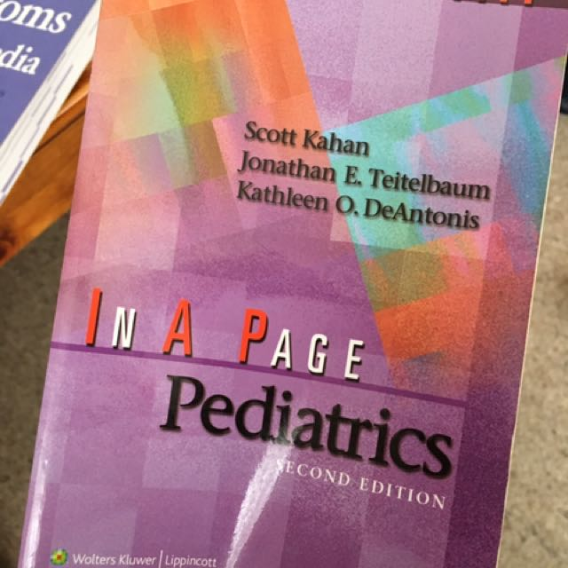 In A Page Paediatrics, 2nd Edition