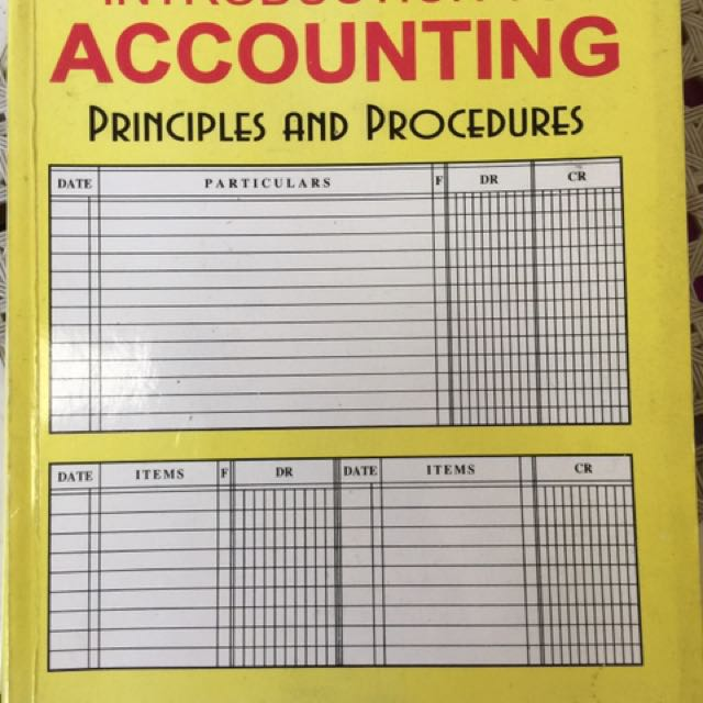 Introduction To Accounting (Principles & Procedures)