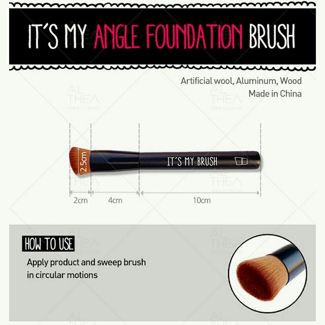 It's My Angle Foundation Brush