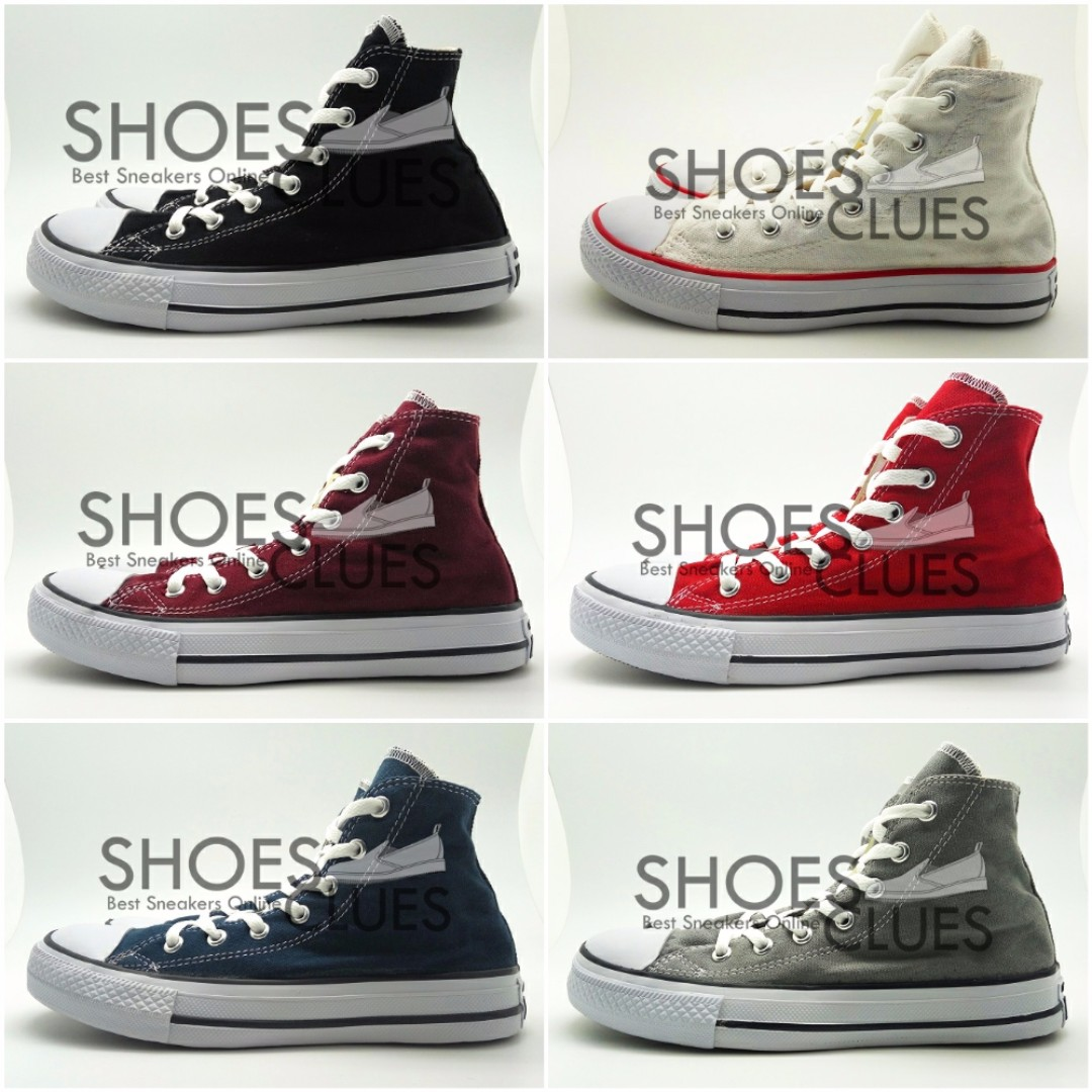 Jual Sepatu Converse All Star HIGH REAL PIC High Quality Harga ... b1a1ab3647