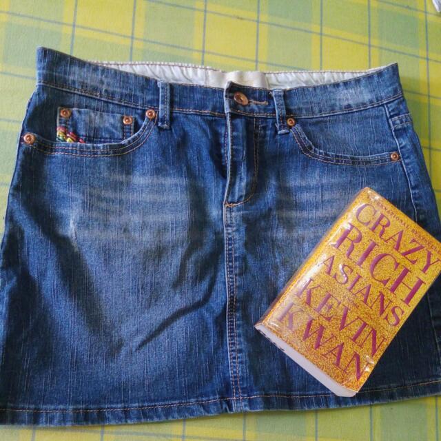 KAMISETA Denim Mini Skirt