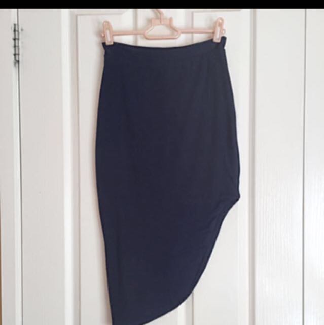 Kookai Asymmetric Skirt