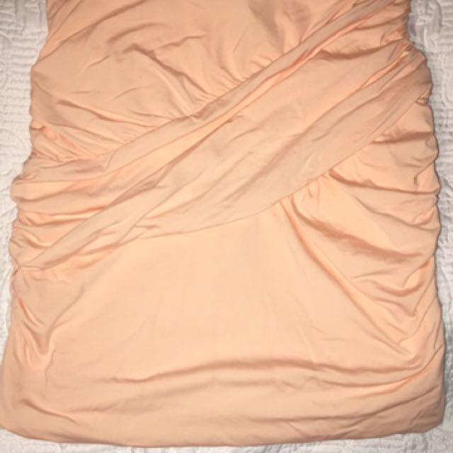 Kookai Peach Skirt