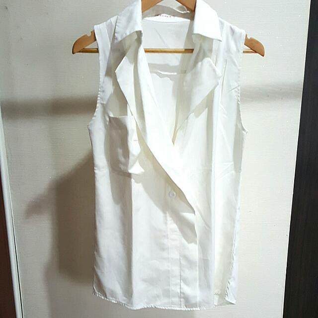 Korean White Shirt
