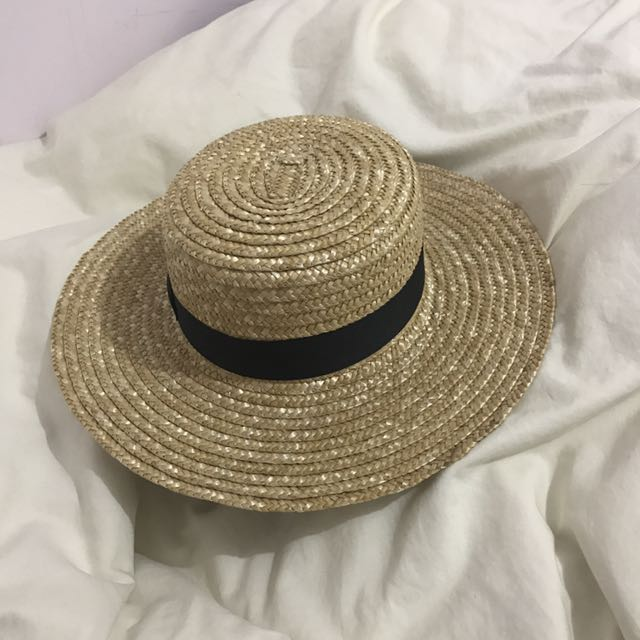 Lack of Colour Boater Straw Hat