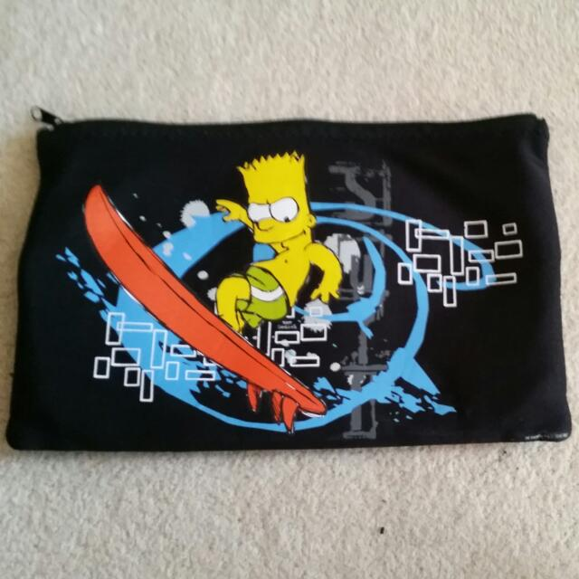 Large Simpsons Pencil Case