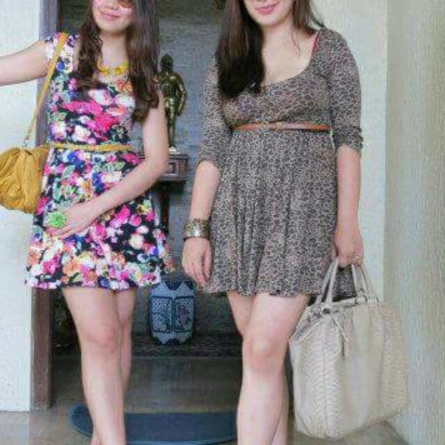 Zara Leopard Print Dress