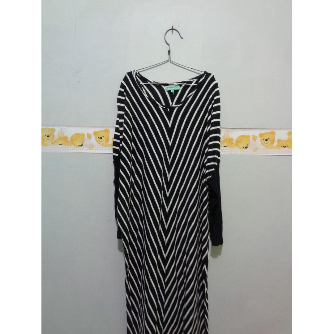 Long Dress Stripes HIJAB CHIC