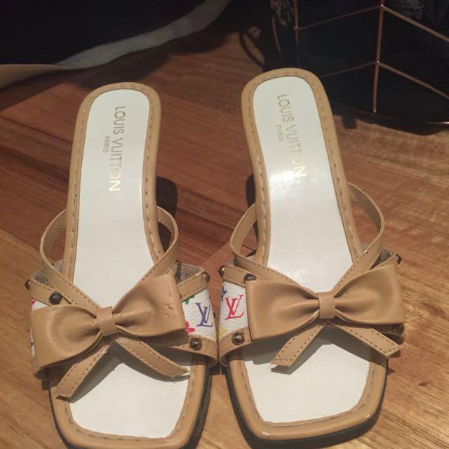 LV Louis Vuitton Authentic Women's Shoes