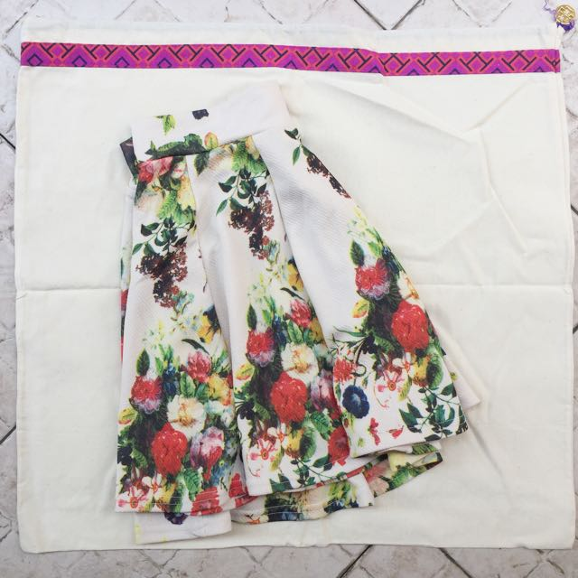 Magnolia Flower Skirt