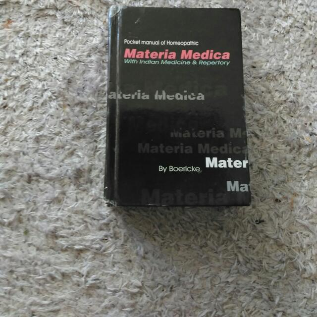 Materia Media With Indian Medicine  and Repertory