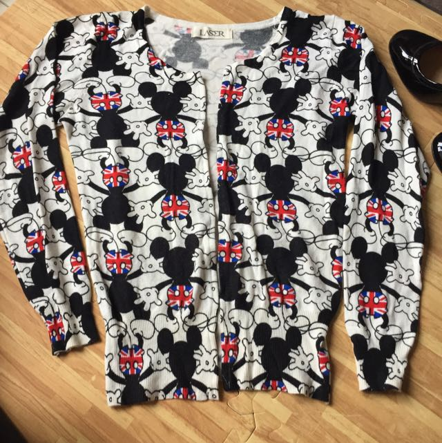 Mickey Cardigan Buttonless