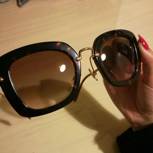 Authentic Miu Miu Sunglasses #MU070S_52