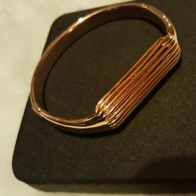 New Fitbit Flex 2 Imitation Small Bangle In Rose Gold Color