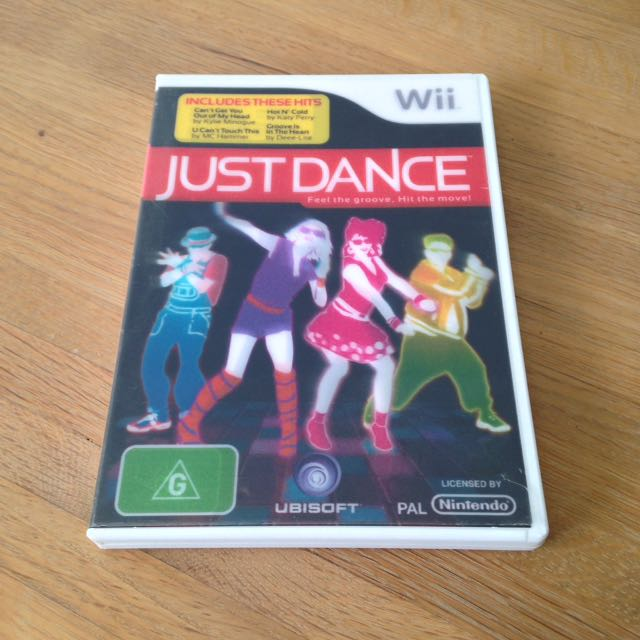 Nintendo Wii Just Dance Original Game
