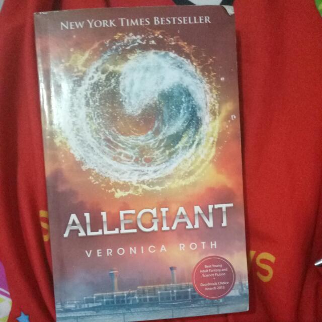 Novel Alegiant