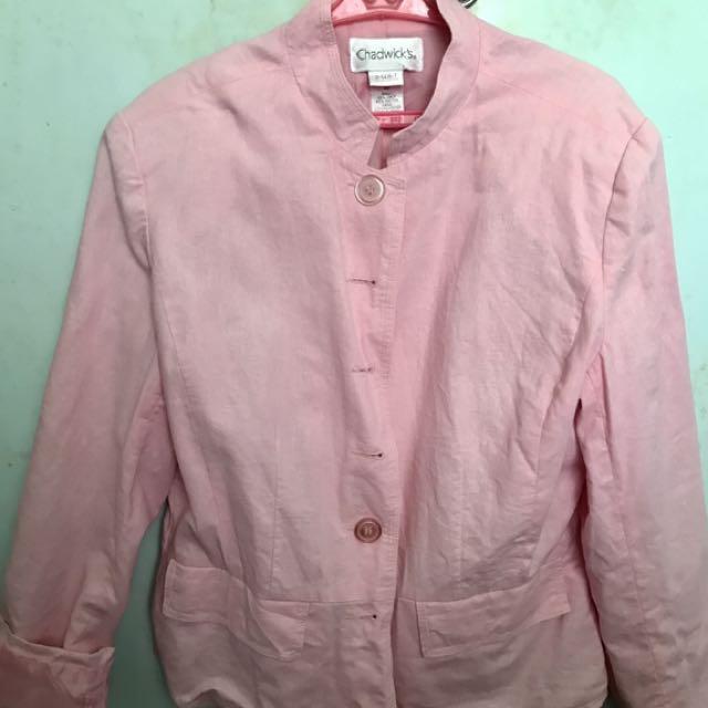 Pink Coat Size 10