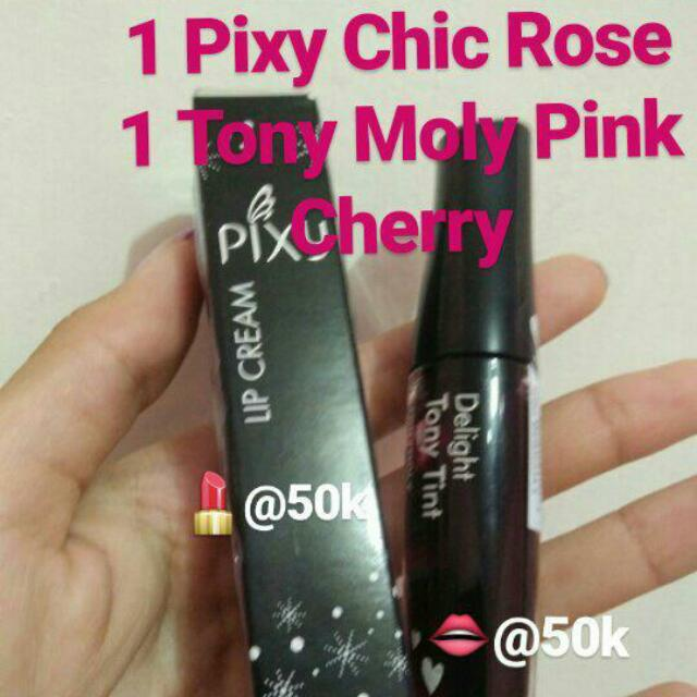 New PIXY LIP CREAM DAN TONY MOLY LIP TINT