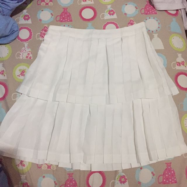 Pomelo White Skirt