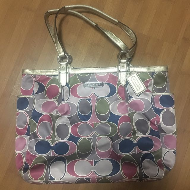 (Preloved) Coach Signature Tote