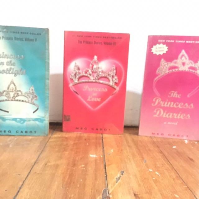 Princess Diaries - Meg Cabot 3 Books