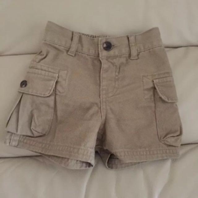 Ralph Lauren Baby Boy's Cargo Shorts (size: 6 months)