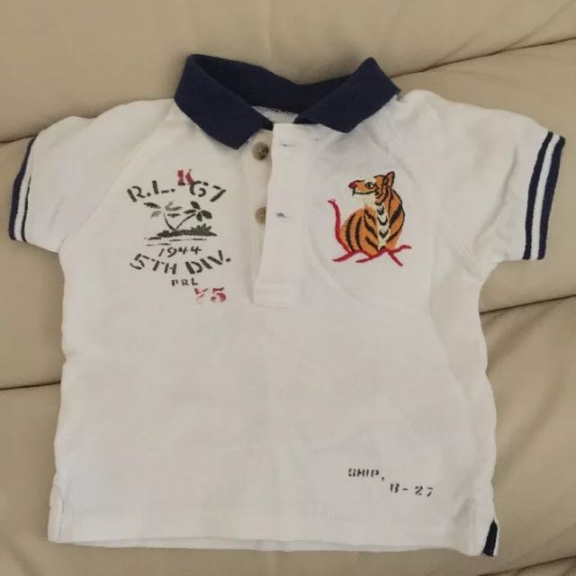 Ralph Lauren Baby Boy's Polo Shirt (size: 6mths)