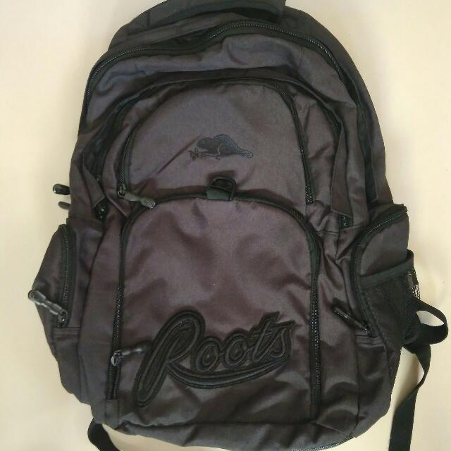 Roots Backpack (Black)