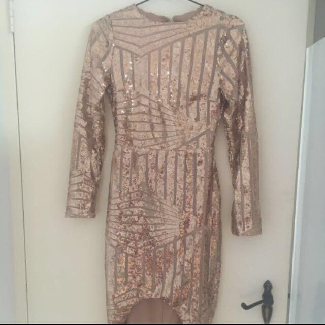 Rose Gold Formal Dress