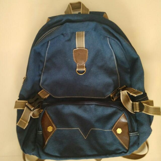 Salvatore Mann Knapsack (Denim blue)