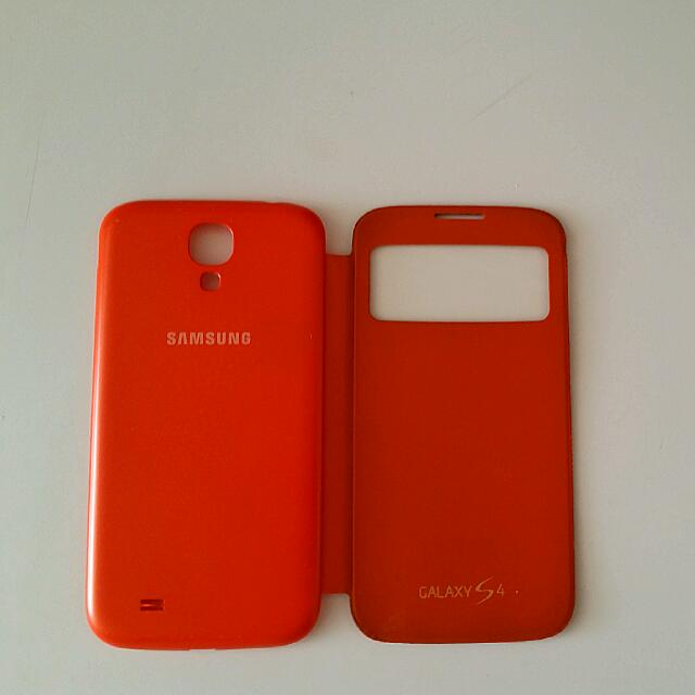 Samsung Galaxy S4 ORANGE OEM Flip Cover