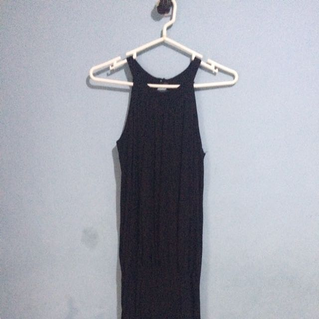 Semi Helter Black Dress