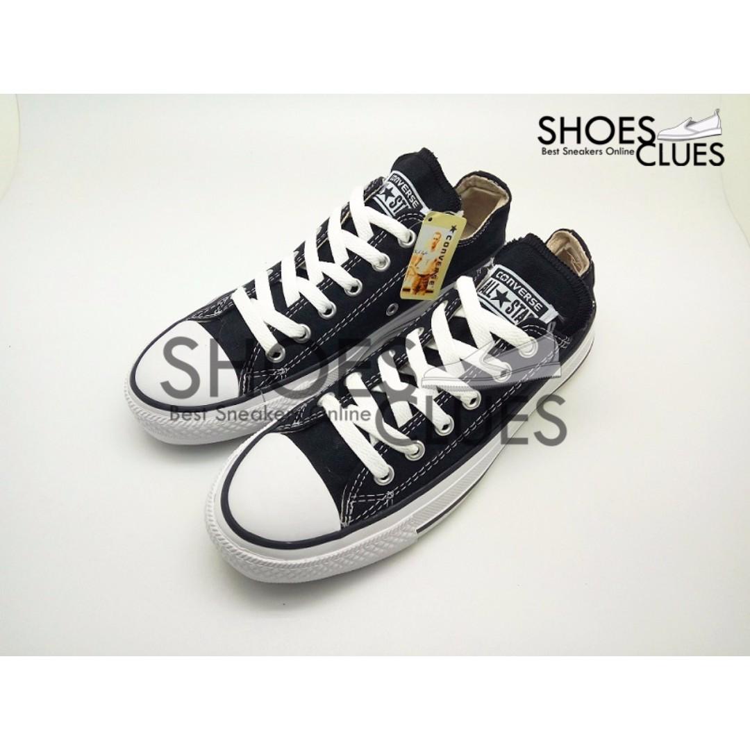 Sepatu Converse ALL STAR Black Low High Quality Harga Grosir 8af9112cc1