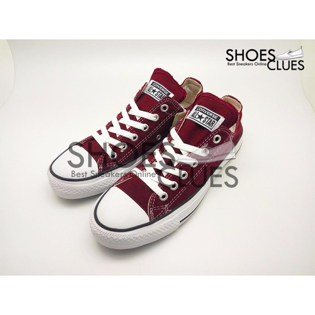 b55694b009161c Sepatu Converse ALL STAR Maroon Low High Quality Harga Grosir ...