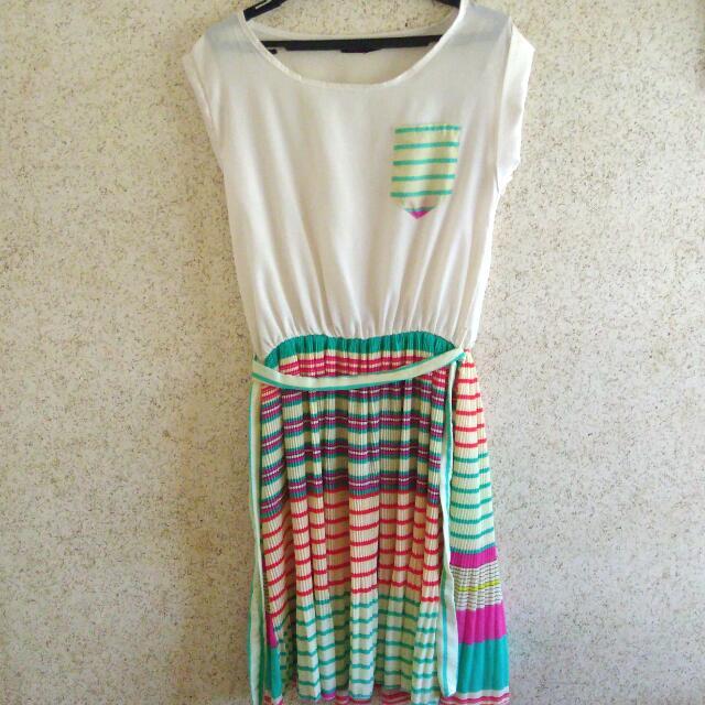 Short Colorful Dress