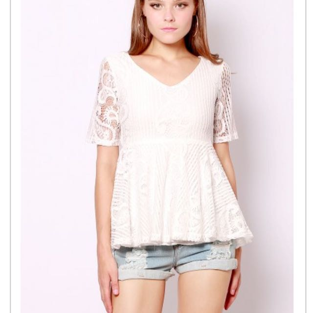 SSD Heydah Lace Top