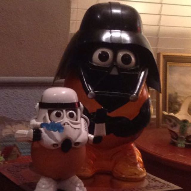 Star Wars Mr Potato Heads