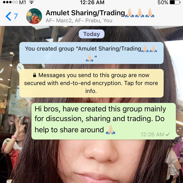 Thai Amulet Whatsapp Group, Vintage & Collectibles