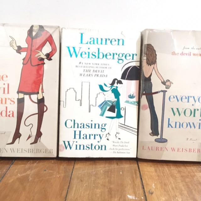 The Devil Wears Prada - Lauren Weisberger Books