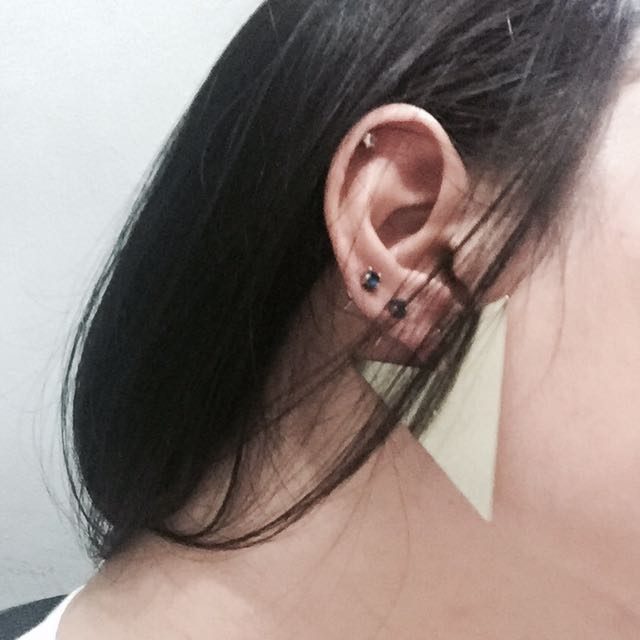 Triangle Party Earrings