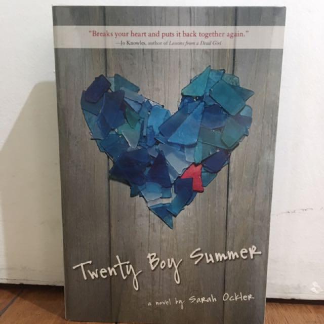 Twenty Boy Summer - Sarah Ockler NEW